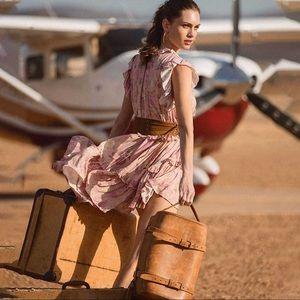 Spell & The Gypsy Wild Bloom Mini Dress Blush XS
